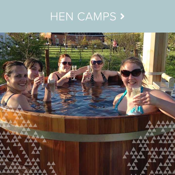 View our hen camp packages