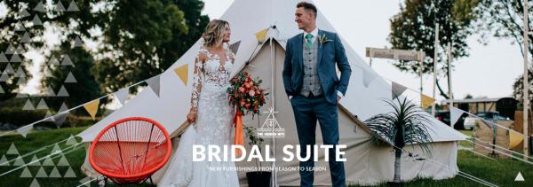 Bell Tent Hire at The Hidden Hive, a Wonderland Wedding Venue