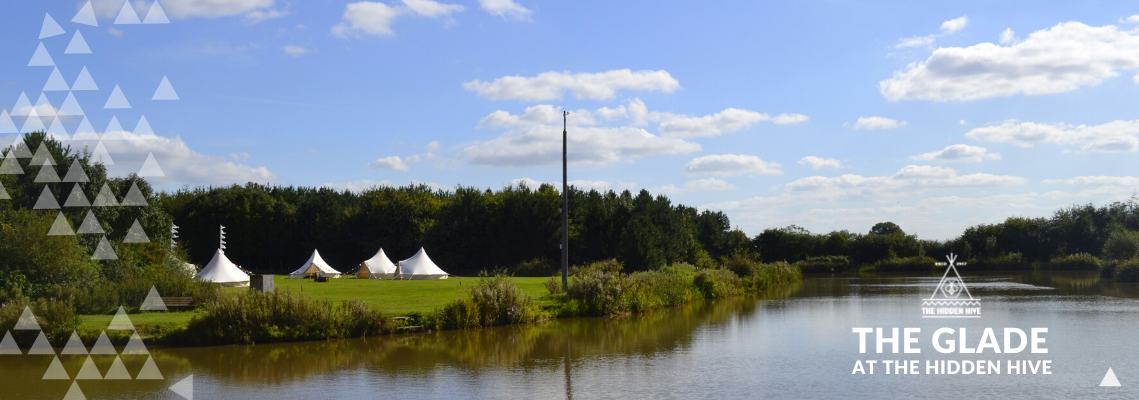Glamping at The Hidden Hive Tipi Wedding Venue